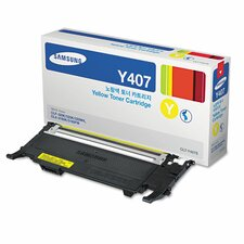 CLTY407S Toner Cartridge, 1000 Page Yield, Yellow