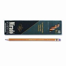 Mirado Woodcase Pencil, HB #2, Yellow Barrel, Dozen