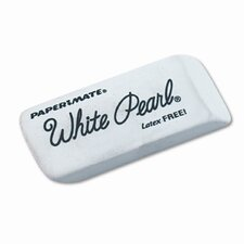 <strong>Sanford Ink Corporation</strong> White Pearl Eraser, 12 Per Box