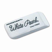 White Pearl Eraser, 12 Per Box