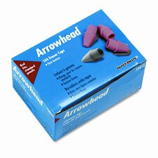 Arrowhead Eraser Caps, 144 Per Box