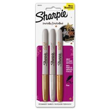 <strong>Sanford Ink Corporation</strong> Sharpie Metallic Markers (3 Pack)