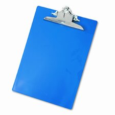 "Plastic Antimicrobial Clipboard, 1"" Capacity"