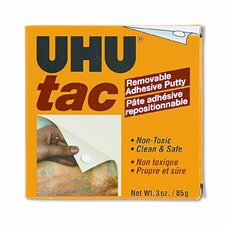 Tac Adhesive Putty Sheets, Removable/Reusable, Nontoxic
