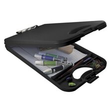 "Portable Desktop, Holds Pads and Pens, 10""x16"", Black"