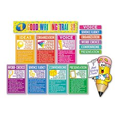 7 Good Writing Traits Bulletin Board Set