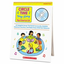 Circle Time Sing Along Flip Chart with CD