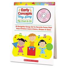 Early Concepts Sing-Along Flip Chart with CD
