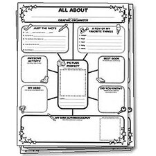 <strong>Scholastic</strong> All About Me Web Graphic Organizer