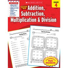 Scholastic Success Gr 4 Addition