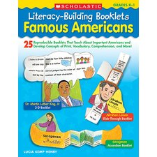 Literacy Building Booklets Famous