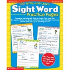100 Write And Learn Sight Word