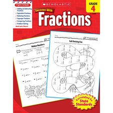 Scholastic Success Fractions Gr 4