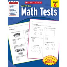 Scholastic Success Math Tests Gr 6