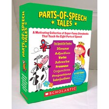 Parts Of Speech Tales Gr 2-5