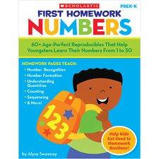First Homework Numbers Gr Pk-k