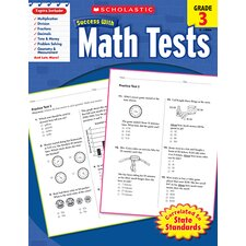 Scholastic Success Math Tests Gr 3