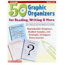 <strong>Scholastic</strong> 50 Graphic Organizers For Reading