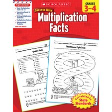 Scholastic Success Multiplication