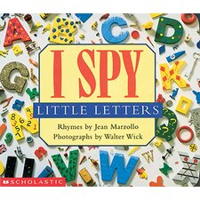 I Spy Little Letters Board Book