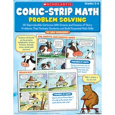 <strong>Scholastic</strong> Comic Strip Math Problem Solving