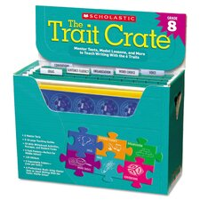 <strong>Scholastic</strong> Trait Crate Books for Grade 8 (Set of 6)