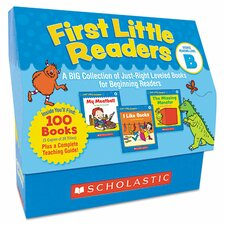 First Little Readers Level B Story Books (Set of 100)