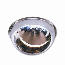 "Full Dome Convex Security Mirror, 18"" Dia."