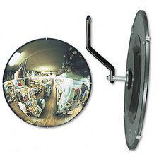 "<strong>See-All Industries</strong> 160 Degree Convex Security Mirror, 26"" Dia."