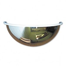 "<strong>See-All Industries</strong> Half-Dome Convex Security Mirror, 18"" Dia."
