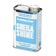 <strong>Sheila Shine</strong> Stainless Steel Cleaner & Polish Can, 1 Quart Can