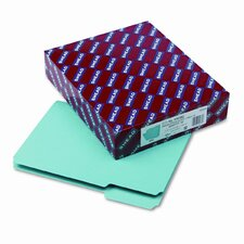 Interior File Folders, 1/3 Cut Top Tab, Letter, 100/Box