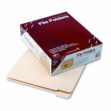 1/5 Cut Reinforced Top Tab File Folders, 100/Box