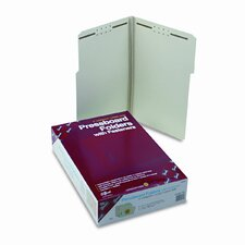 1/3 Top Tab Fastener Folder, 25/Box