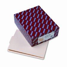 1/3 Cut Center Position Folders, 100/Box