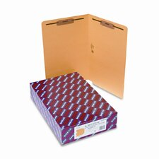 Straight Tab Fastener Folders, 50/Box