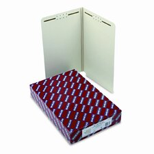 Two Fasteners End Tab One Inch Expansion Folder, Legal, 25/Box