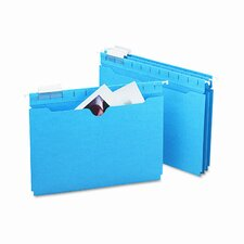 11 Point Stock Hanging Flat File Jackets, 25/Box