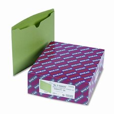 File Jackets with Reinforced Double-Ply Tab, Letter, 11 Point Stock, 100/Box