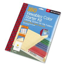 Viewables Color Labeling System, 160/Kit