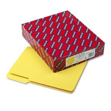 Interior 1/3 Cut Top Tab File Folders, Letter, 100/Box