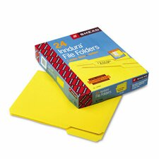 Waterproof Poly File Folders, 24/Box