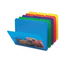 <strong>Smead Manufacturing Company</strong> Slash Pocket Poly File Folders, 30/Box