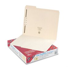 <strong>Smead Manufacturing Company</strong> One Fastener 1/3 Cut Assorted Top Tab Folders, Letter, 50/Box