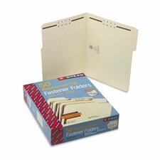 Two Fasteners 1/3 Cut Assorted Top Tab Folder, Letter, 50/Box