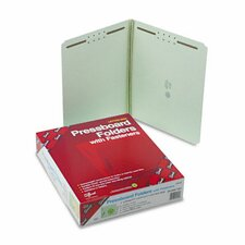 Straight Tab Fastener Folder, Letter, 25/Box