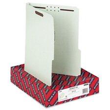 2/5 Tab Fastener Folder, 25/Box