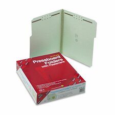 Two Inch Expansion Fastener Folder, 1/3 Top Tab, 25/Box