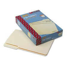 <strong>Smead Manufacturing Company</strong> 1/3 Cut Third Position One-Ply Top Tab File Folders, 100/Box