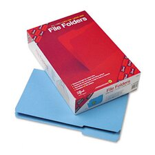 1/3 Cut File Folders, Reinforced Top Tab, 100/Box